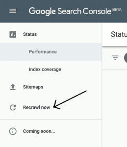Google Search Console Beta - Rick Rolled